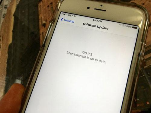 حل مشكلة تفعيل الأيفون والآيباد بعد التحديث إلى iOS 9.3
