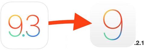 شرح الرجوع من الإصدار 9.3 إلى 9.2.1 على الأيفون والأيباد