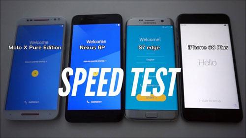 فيديو: ايفون 6s بلس يتفوق على جالكسي S7 ادج - اختبار السرعة