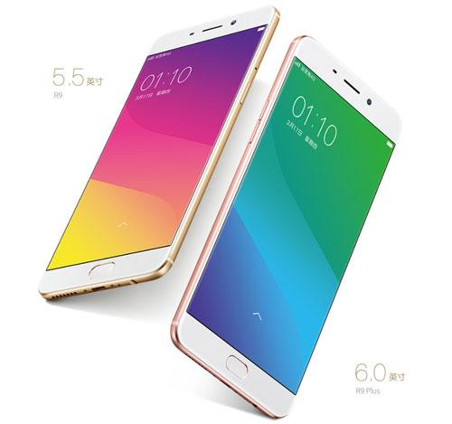 الإعلان رسميا عن الجهازين Oppo R9 و R9 Plus - السعر والمواصفات