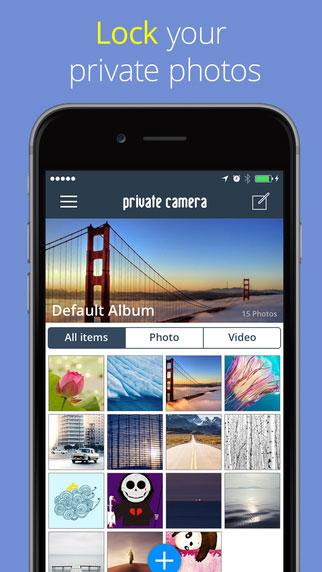 تطبيق Private Camera Pro لإخفاء صورك وفيديوهاتك