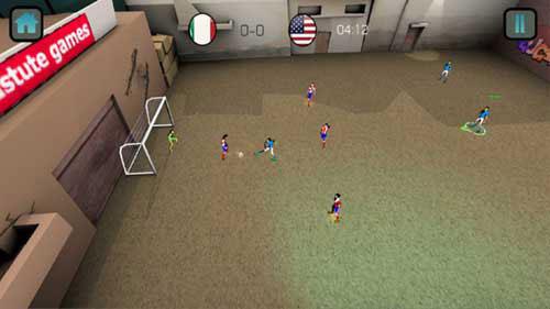 ملعب الحارة: لعبة عربية مميزة لمحبي كرة القدم الشعبية