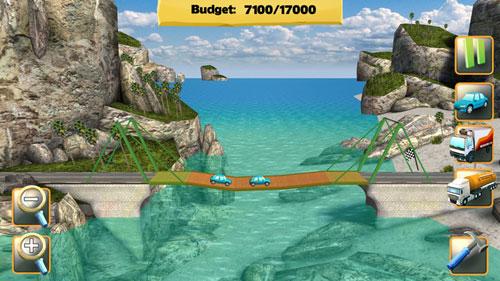 لعبة Bridge Constructor لبناء الجسور