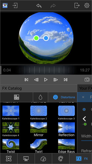 تطبيق LumaFX الاحترافي لتعديل الفيديو بمزايا كثيرة