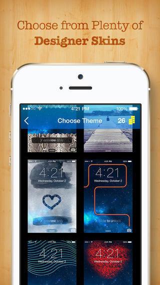 تطبيق Easy Lock لتصميم شاشة القفل الخاصة بك