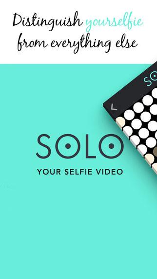 تطبيق Solo لتسجيل فيديو سيلفي