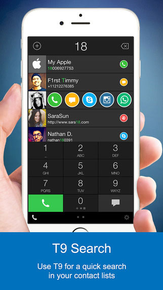 تطبيق One Touch Dial للوصول السريع لجهات الاتصال