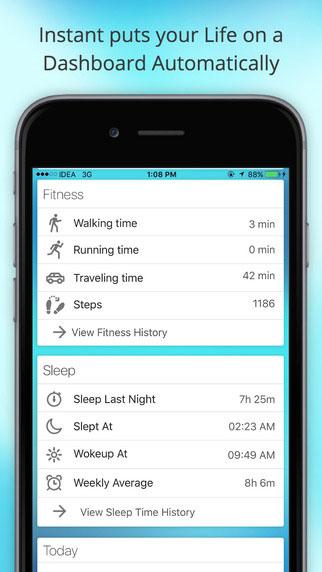 تطبيق Instant لمتابعة تفاصيل حياتك وعاداتك اليومية