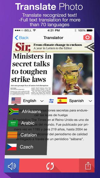 تطبيق Translate Photo