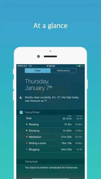 تطبيق Focus Timer لإدارة يومك على أكمل وجه