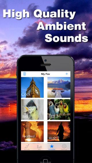 تطبيق White Noise يعرض لك أصواتا جميلة تساعد على الاسترخاء