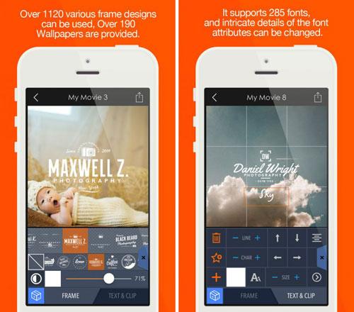 تطبيق Pics2Mov لتجميع صورك في فيديو مع الصوت