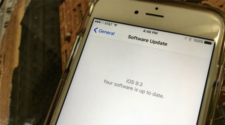 صورة حل مشكلة تفعيل الأيفون والآيباد بعد التحديث إلى iOS 9.3
