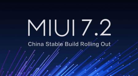 صورة شياومي تطلق النسخة الصينية MIUI 7.2 – قائمة الأجهزة