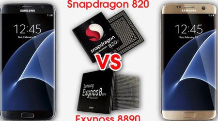 Photo of فيديو: اختبار Snapdragon 820 و Exynos 8890 في جهاز جالكسي S7