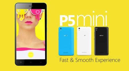 الإعلان عن جهاز Gionee P5 Mini مع شاشة 4.5 إنش