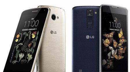 شركة LG تعلن رسميا عن K5 و K8 - بمواصفات متدنية