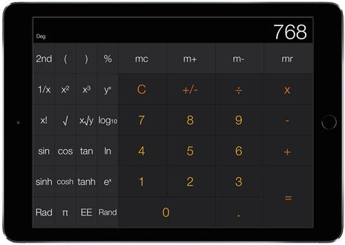 لماذا جهاز الأيباد يأتي بدون تطبيق الحاسبة ؟ تعرف على السبب