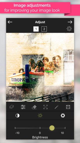 تطبيق Image Blend لإضافة مؤثرات مذهلة على الصور