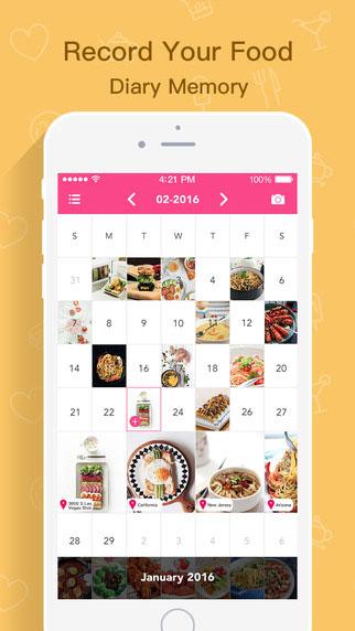 تطبيق My Food Diary 365 لتسجيل صور المأكولات يوميا