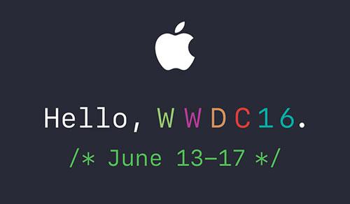 آبل تحدد موعد مؤتمر WWDC 16 - الكشف عن iOS 10 ومنتجات جديدة