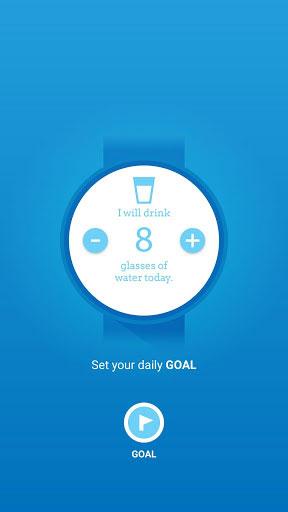 تطبيق Wear Hydrate Me لتذكيرك بشرب الماء من خلال ساعتك الذكية