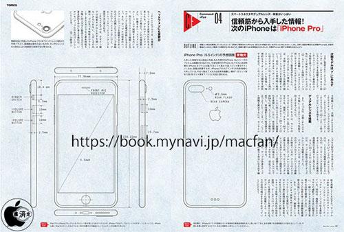 صورة مسربة لجهاز iPhone Pro - كاميرا مزدوجة وتصميم جديد
