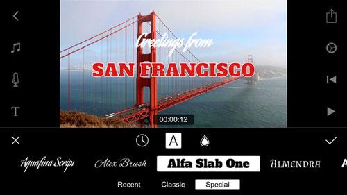 تطبيق Filmmaker Pro لتحرير مقاطع الفيديو