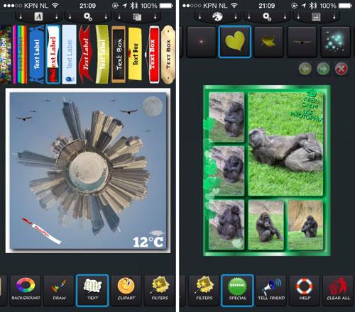 تطبيق PhotoPhix ذو المزايا الاحترافية لتحرير الصور