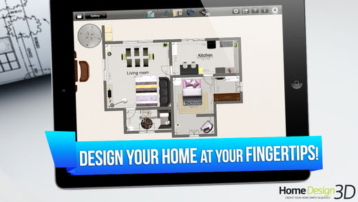 تطبيق Home Design 3D GOLD لرسم مخطط منزلك