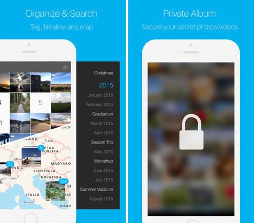 تطبيق HashPhotos لتحرير وإخفاء الصور في مكان آمن