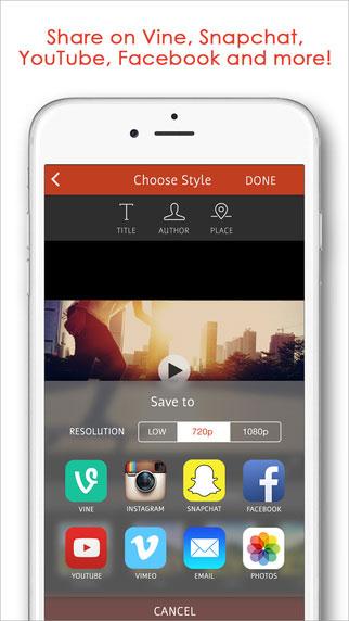 تطبيق Vid.z لتحرير الفيديو مع ميزات ومؤثرات إحترافية كثيرة