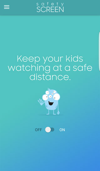 سامسونج تطلق تطبيق Safety Screen لحماية عيون أطفالكم