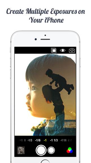 تطبيق Multiple Exposure لتحرير وتعديل الصور