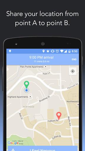تطبيق Companion Safety App لمشاركة مكانك مع من تريد