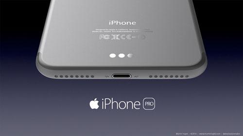 صورة تخيلية لجهاز iPhone Pro
