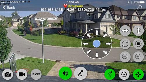 تطبيق Live Cams Pro لمشاهدة وربط الكاميرات