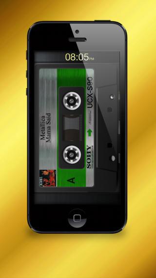 تطبيق Cassette Gold مشغل صوتيات يحاكي الكاسيت