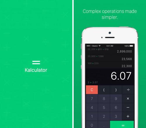 تطبيق Kalculator حاسبة احترافية بمزايا كثيرة