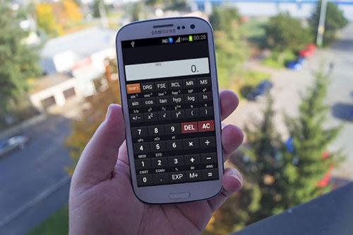 تطبيق Scientific Calculator حاسبة علمية مفيدة