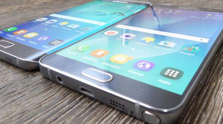 جهاز جالاكسي نوت 6 قد يحمل شاشة منحنية