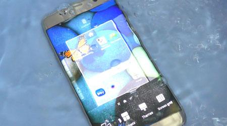 جهاز جالكسي S7 يستطيع السباحة لمدة 16 ساعة متواصلة