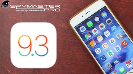 تحديث Spymaster Pro لمراقبة اجهزة الايفون للتوافق مع الإصدار الأخير 9.3.1