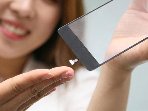 شركة LG تكشف رسميا عن شاشة تدعم التعرف على البصمات بدون زر