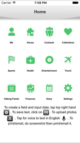 تطبيق Core لتسجيل وإدارة كامل تفاصيل حياتك الخاصة - مزايا احترافية