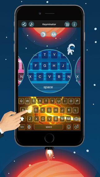 تطبيق Keyminator لوحة مفاتيح بمزايا ومؤثرات كثيرة رائعة