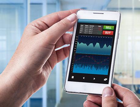 التجارة الحديثة - تطور وسهولة في التداول والربح عبر الاجهزة الذكية