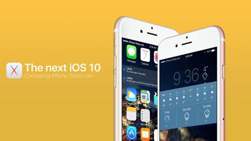 فيديو: مزايا تخيلية ذكية رائعة يمكن أن نراها في iOS 10