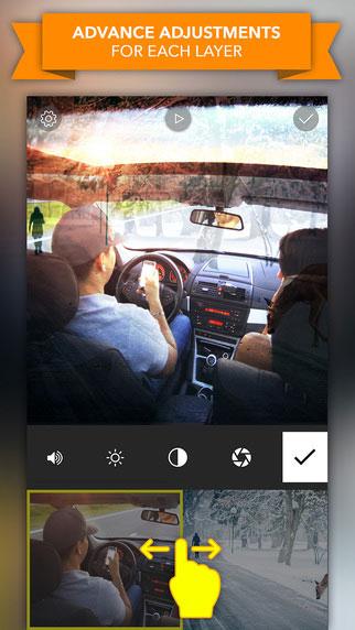 تطبيق Video Blender الإبداعي لتحرير ودمج الصور والفيديو بمزايا احترافية