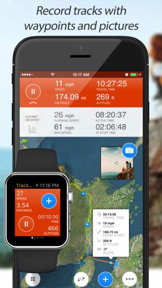 تطبيق Track Kit لتسجيل نشاطك الرياضي على الخريطة
